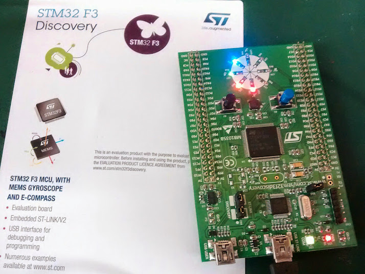 Getting to Blinky with the STM32 and Ubuntu Linux! – Gold