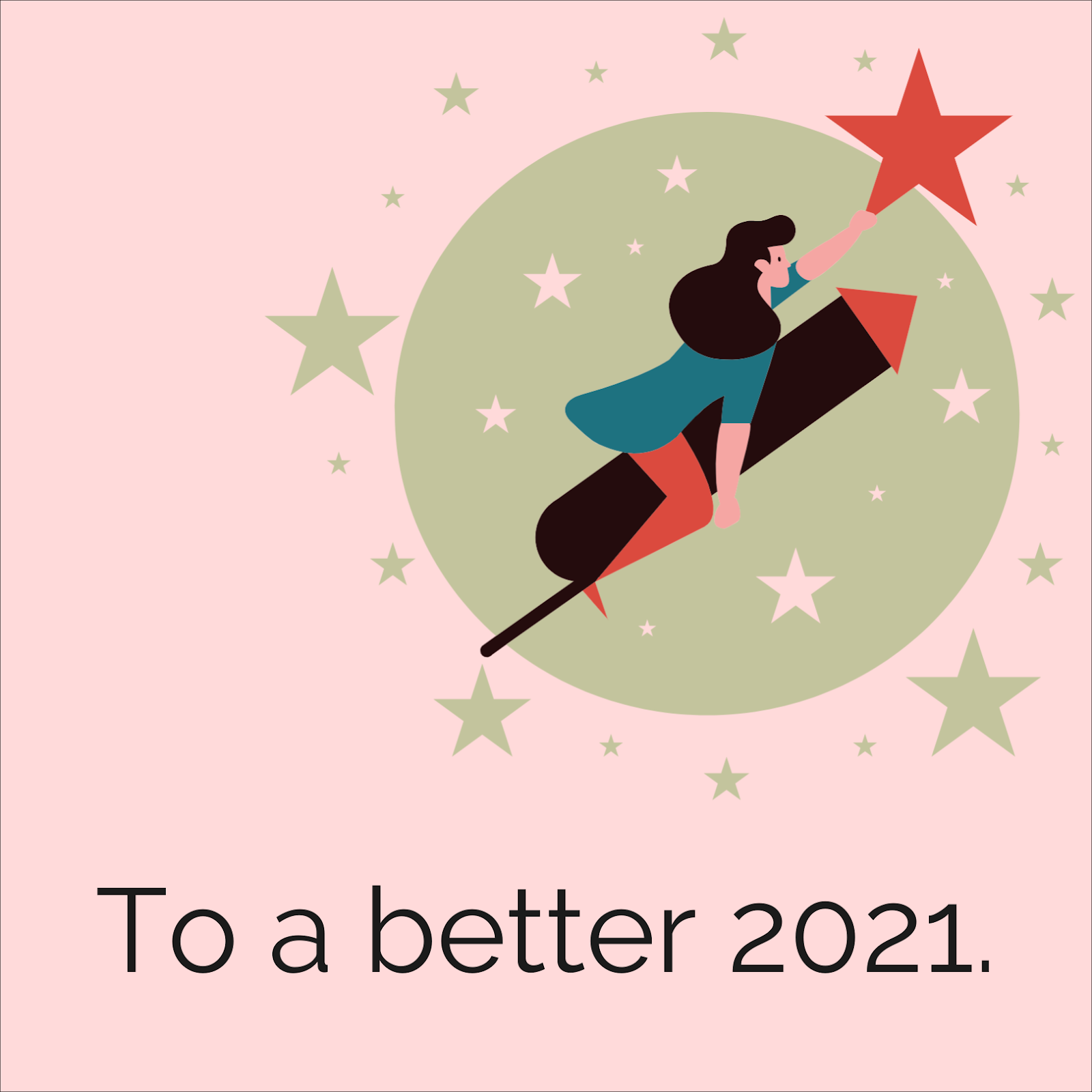 Let's get better in the new year of 2021.