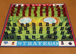 Stratego Board Game, Cyber Security & Defense Strategies