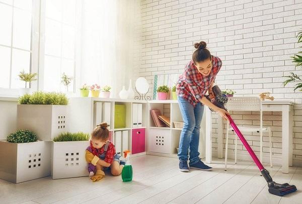 Đón năm mới với dịch vụ vệ sinh nhà ở