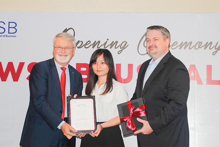 Viện ISB_ Thí sinh tài năng nhận học bổng  WSU BBUS Talent 2019