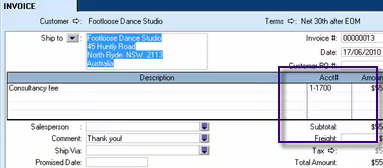 how to add accounts in the general journal on sage