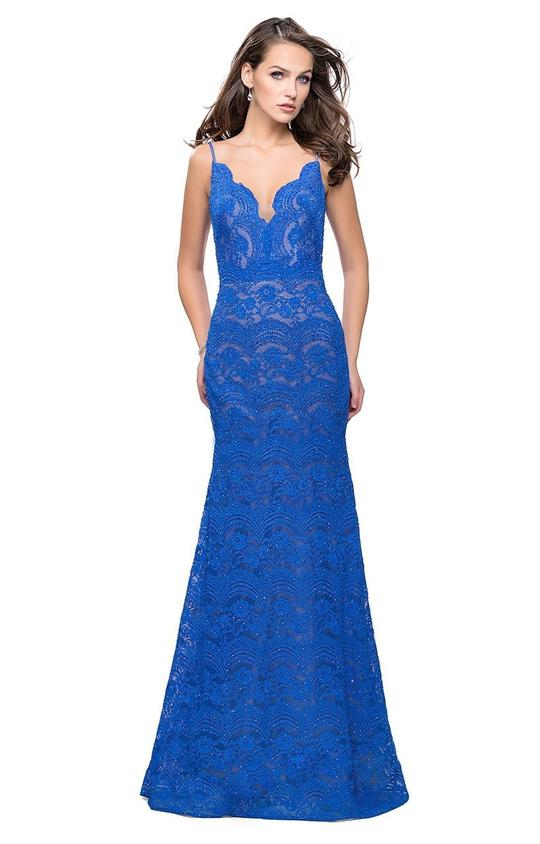Scalloped Trumpet gown