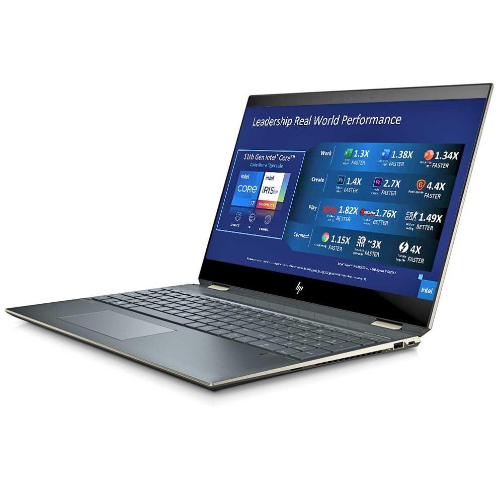 Foto de notebook HP do modelo Spectre x360
