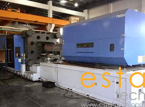 JSW J1800ELIII-7800 (2008) All Electric Plastic Injection Moulding Machine