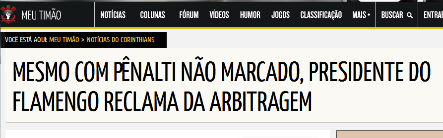 Flamengo é o time do Apito