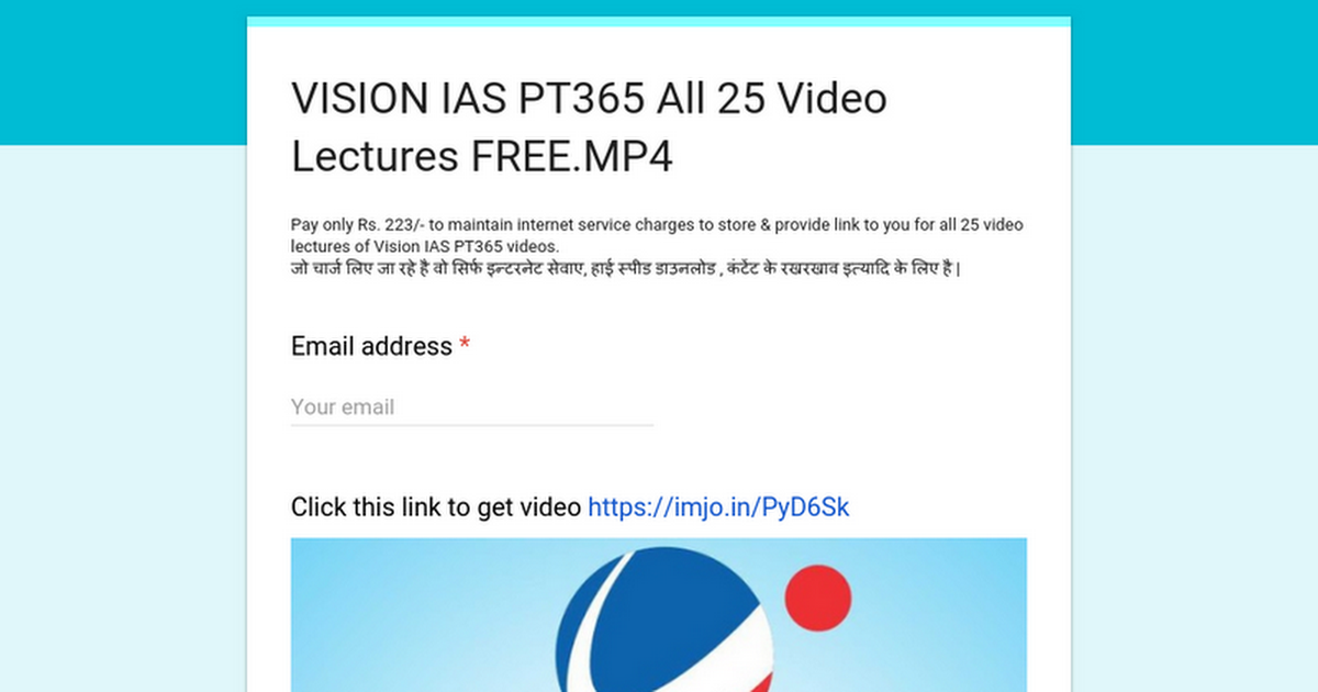 VISION IAS PT365 All 25 Video Lectures FREE MP4