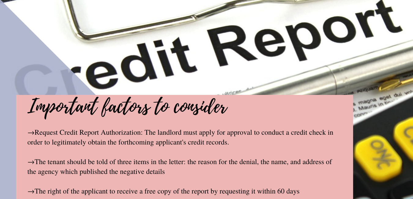 Important factors to consider while obtaining credit reports