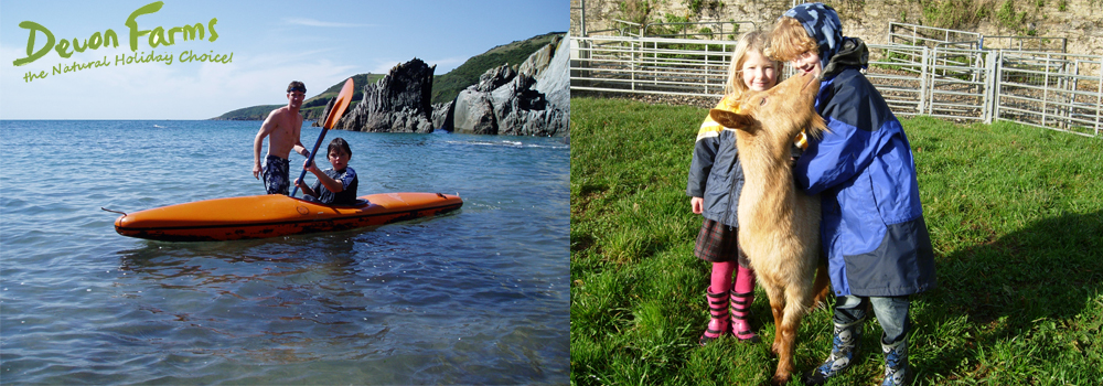Enjoy the large range of attractions on offer in Devon while on holiday with your family.