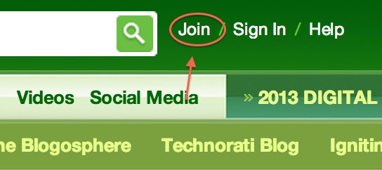 Technorati profile not updating