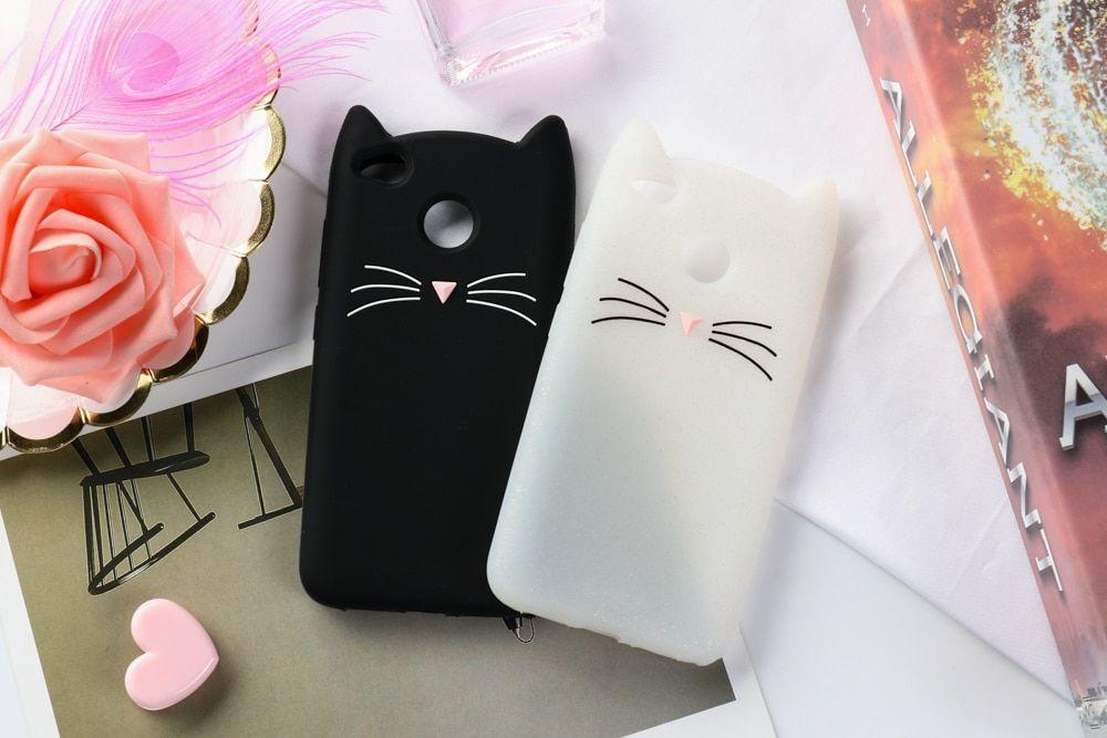 кошачий чехол для смартфона