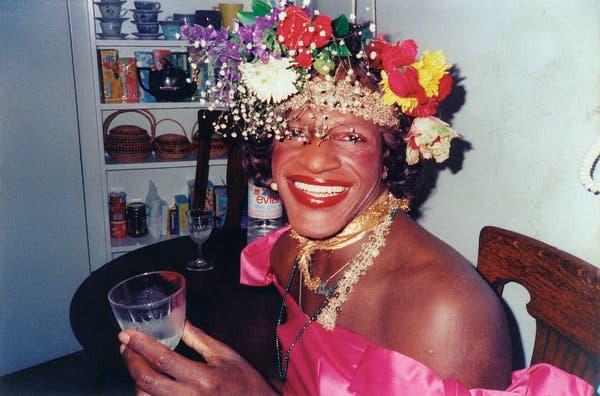 Marsha P. Johnson, David France & rsquo; belgeseli & ldquo; Marsha P. Johnson'ın Ölümü ve Hayatı. & Rdquo;