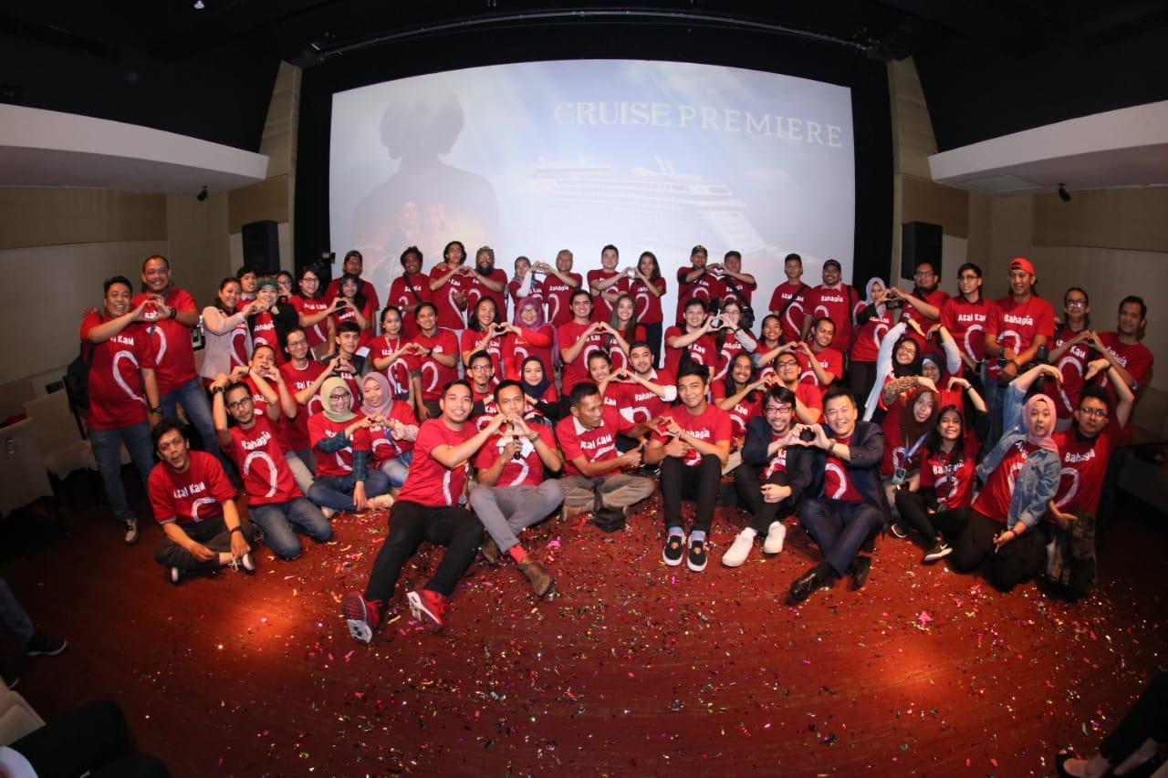 Cuman Falcon Picture yang Ngide Bikin Gala Premiere Asal Kau Bahagia di Kapal Pesiar!