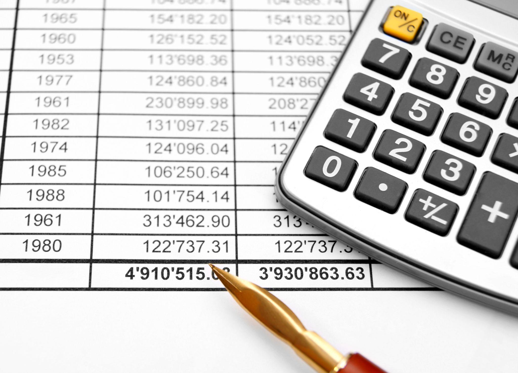 оформление таблиц данных