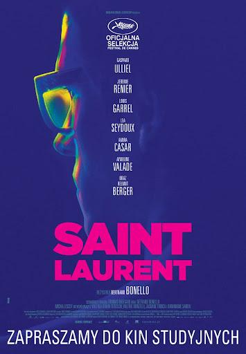 Polski plakat filmu 'Saint Laurent'