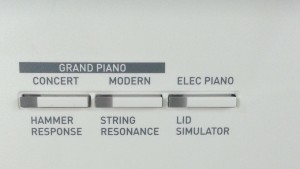 PX850 - tính năng Hammer Reponse - String Resonance - LID Simulator