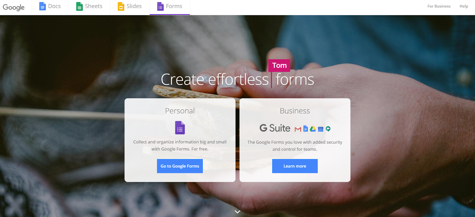 google forms survey tools