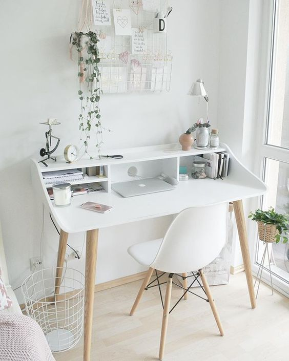 Add a Small, Stylish Desk and Chair for Your Teen Girl Bedroom Ideas