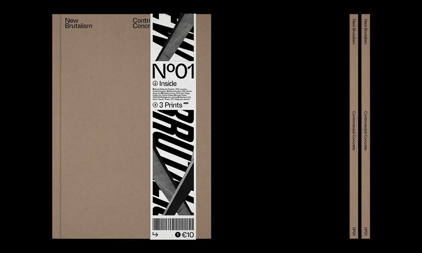 Editorial Design : New Brutalism Controversial Concrete 1