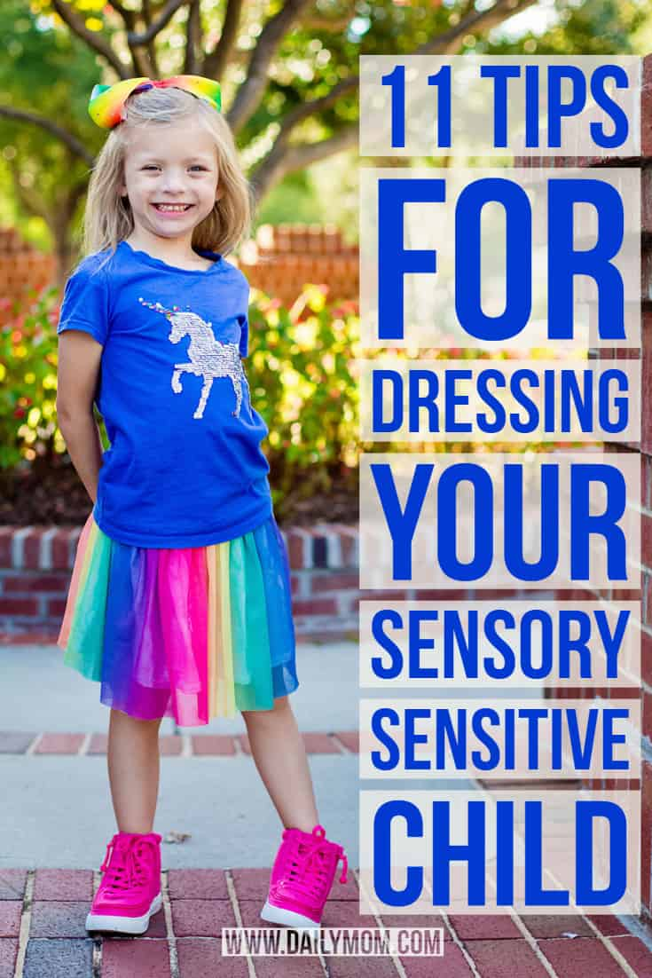 dressing your sensory sensitive child