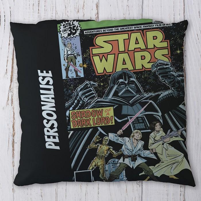 Personalised Cushion - Star Wars Classic Comic Print