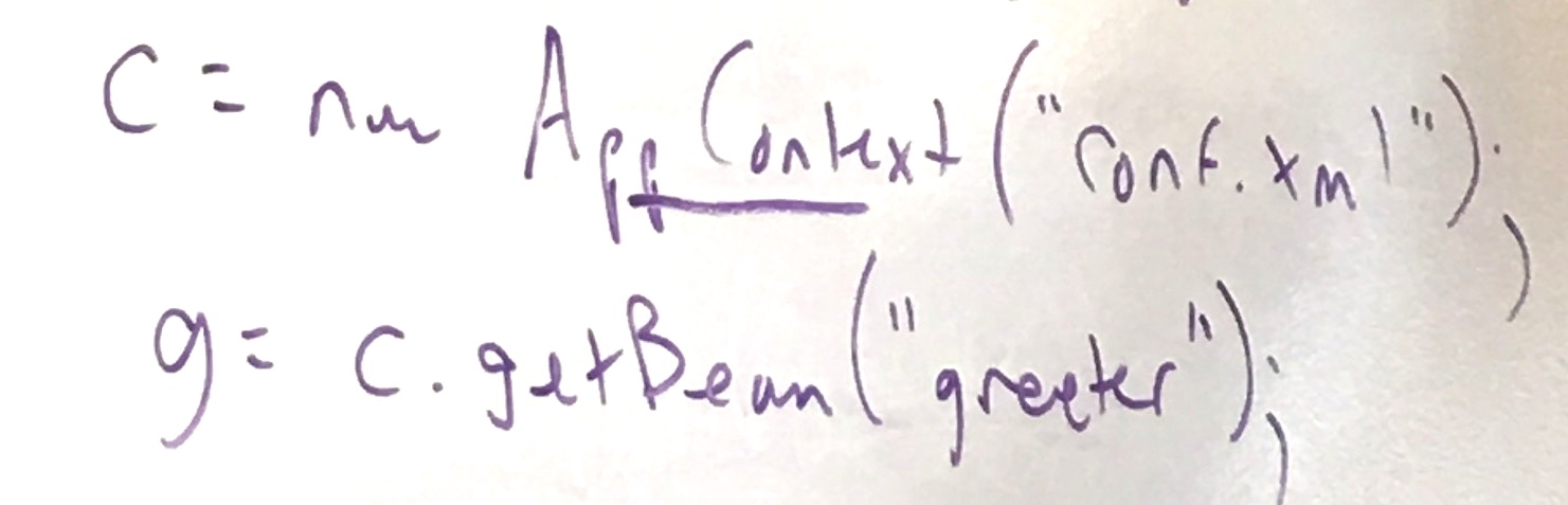 ApplicationContext.getBean()