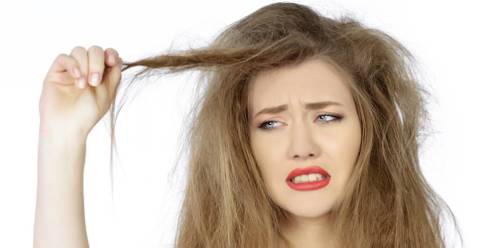 Thiếu Keratin (chất sừng) gây xơ tóc, rụng tóc