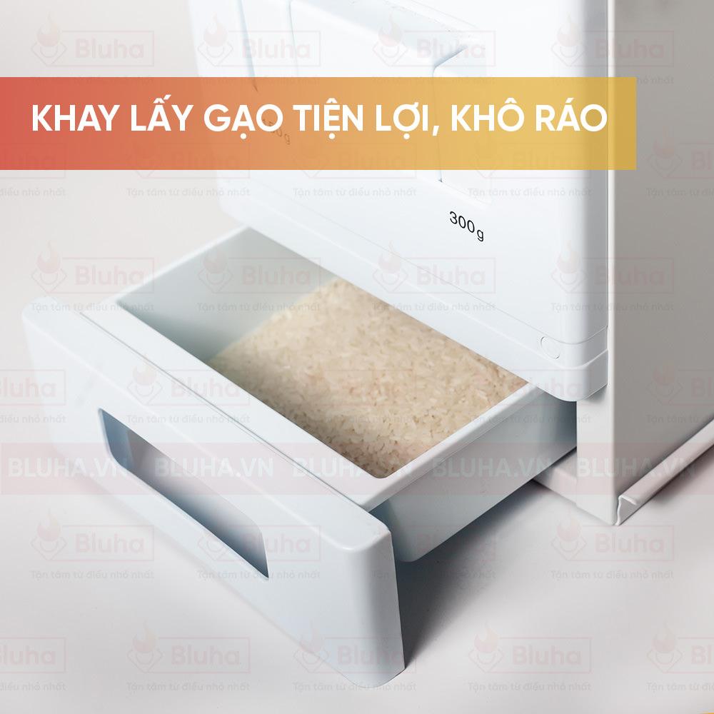 Khay lấy gạo tiện lợi, kho ráo - Thùng gạo Garis - Phụ kiện bếp chính hãng
