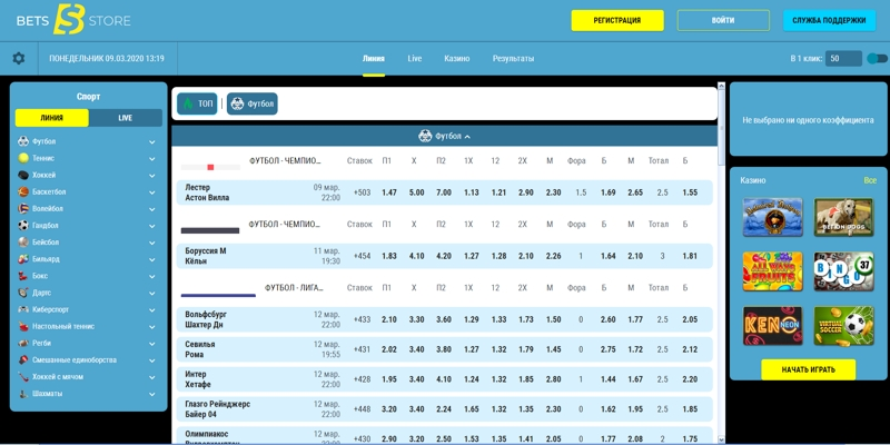 БК Betsstore: реальные отзывы и детальный обзор