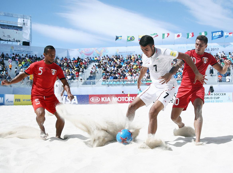 Bóng đá bãi biển đơn giản hơn nhiều so với bóng đá bình thường.