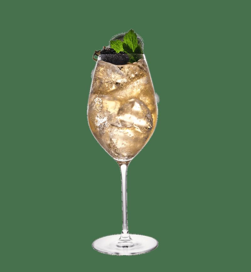 Blackberry & Lemongrass Spritz cocktail