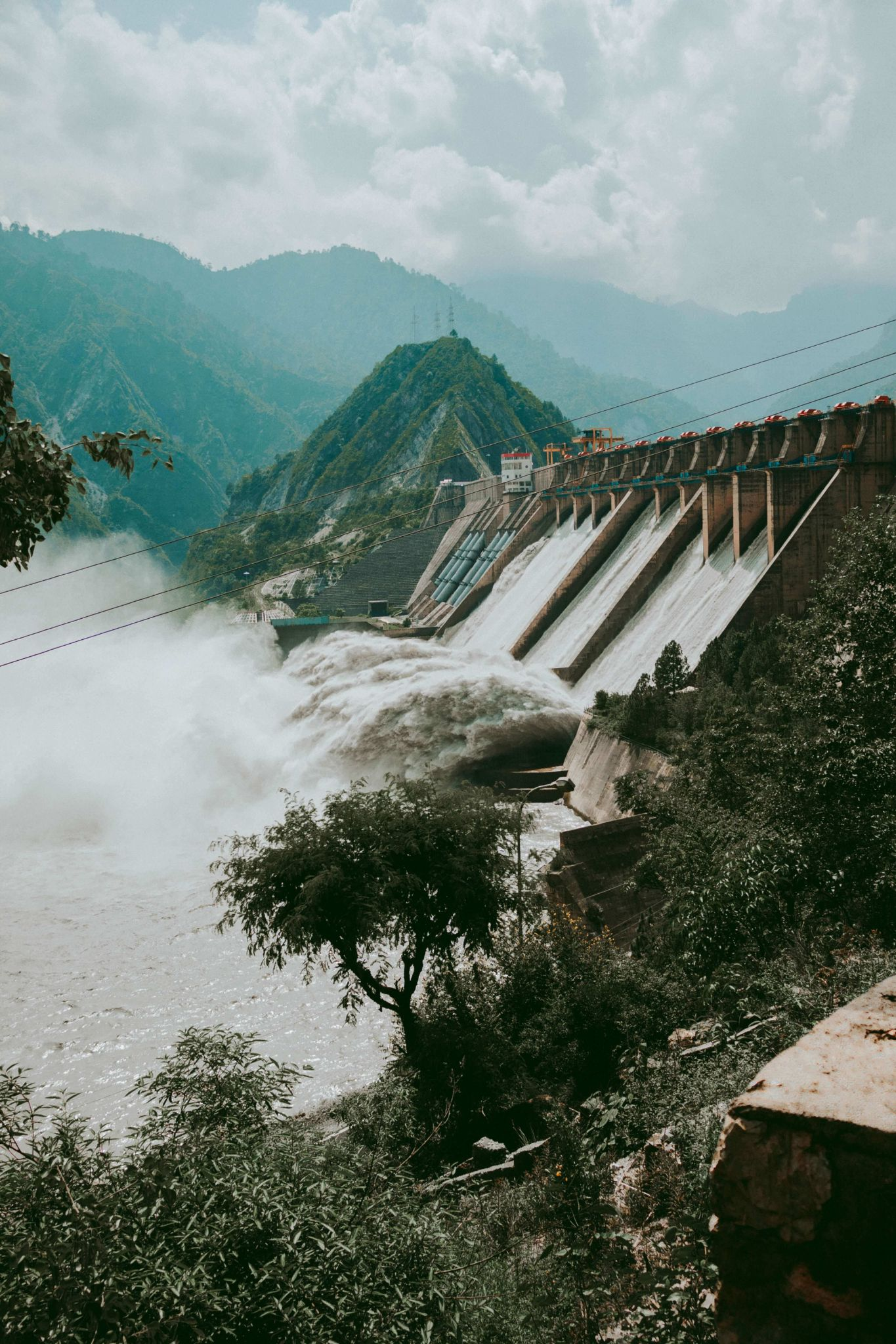 Dam Used For Hydropower