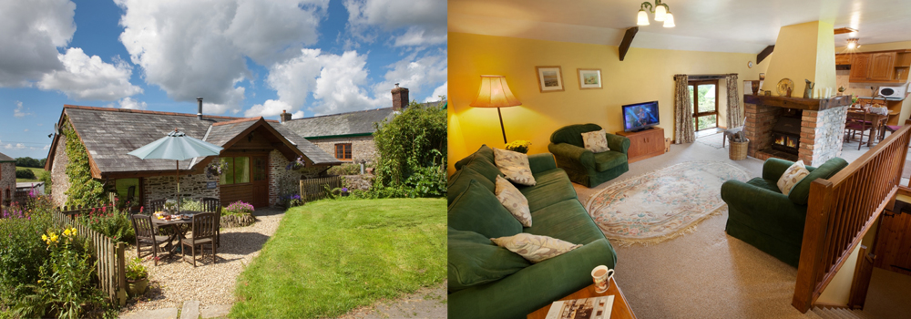 The Haven is a beautiful self-catering cottage at Bampfield Farm in North Devon.