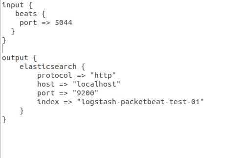 Track Network Traffic using Packetbeat