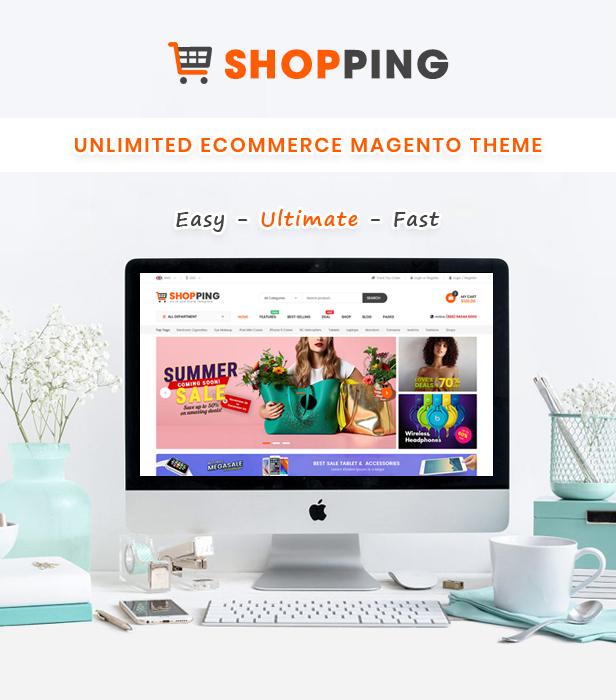 Magento electronics theme shopping