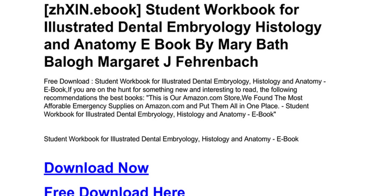 Outstanding Oral Anatomy Histology And Embryology Elaboration
