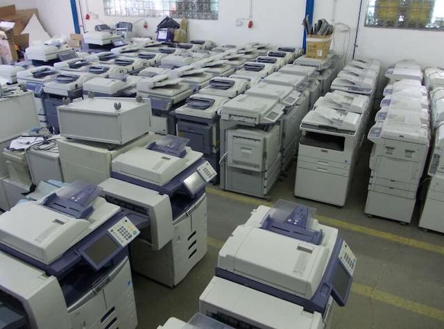 Các bạn nên Thanh lý máy photocopy cũ tại công ty Linh Dương