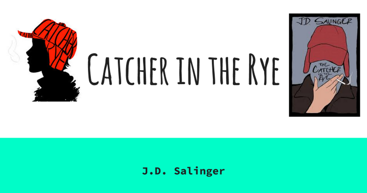 Catcher In The Rye Google Slides