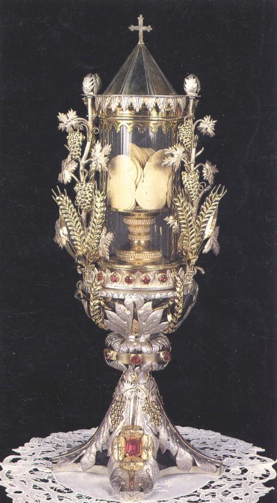 Mình Thánh ở Siena, Ý – thế kỷ 18