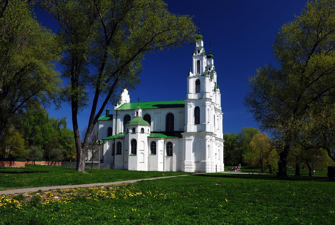 Достопримечательности Беларуси: Софийский собор в Полоцке