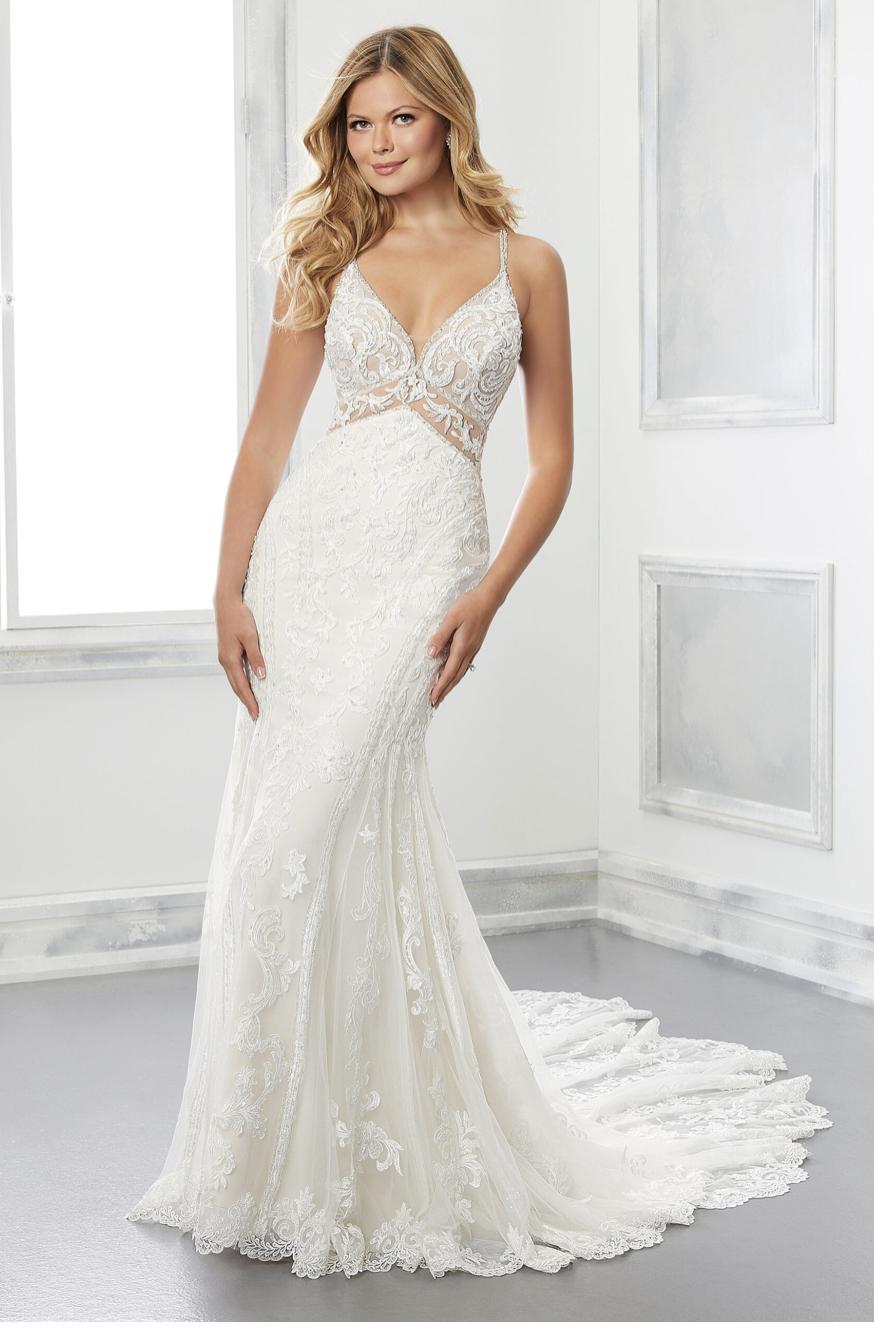 Blaire mermaid wedding gown from Morilee