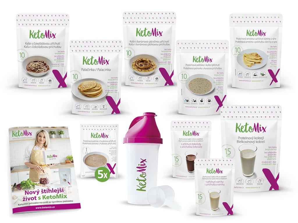 Recenze KetoMix: Ketonová dieta Ketomix na 2 týdny