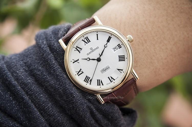 Galle Watch cung cấp đồng hồ nam 36mm Candino C4292/2 chính hãng