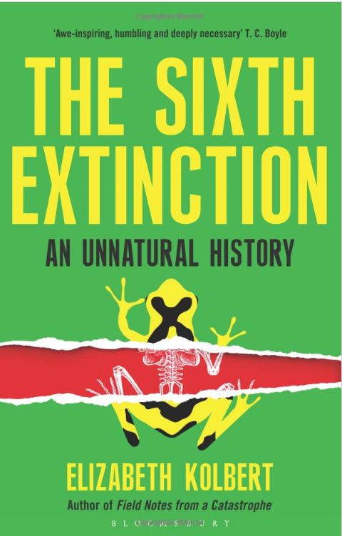 the sixth extinction environmental book