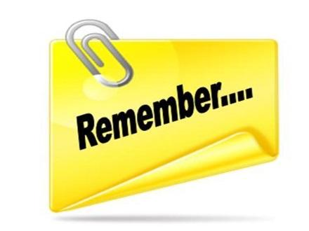 Image result for reminder clip art