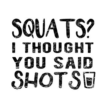 Squats quote weight loss funny