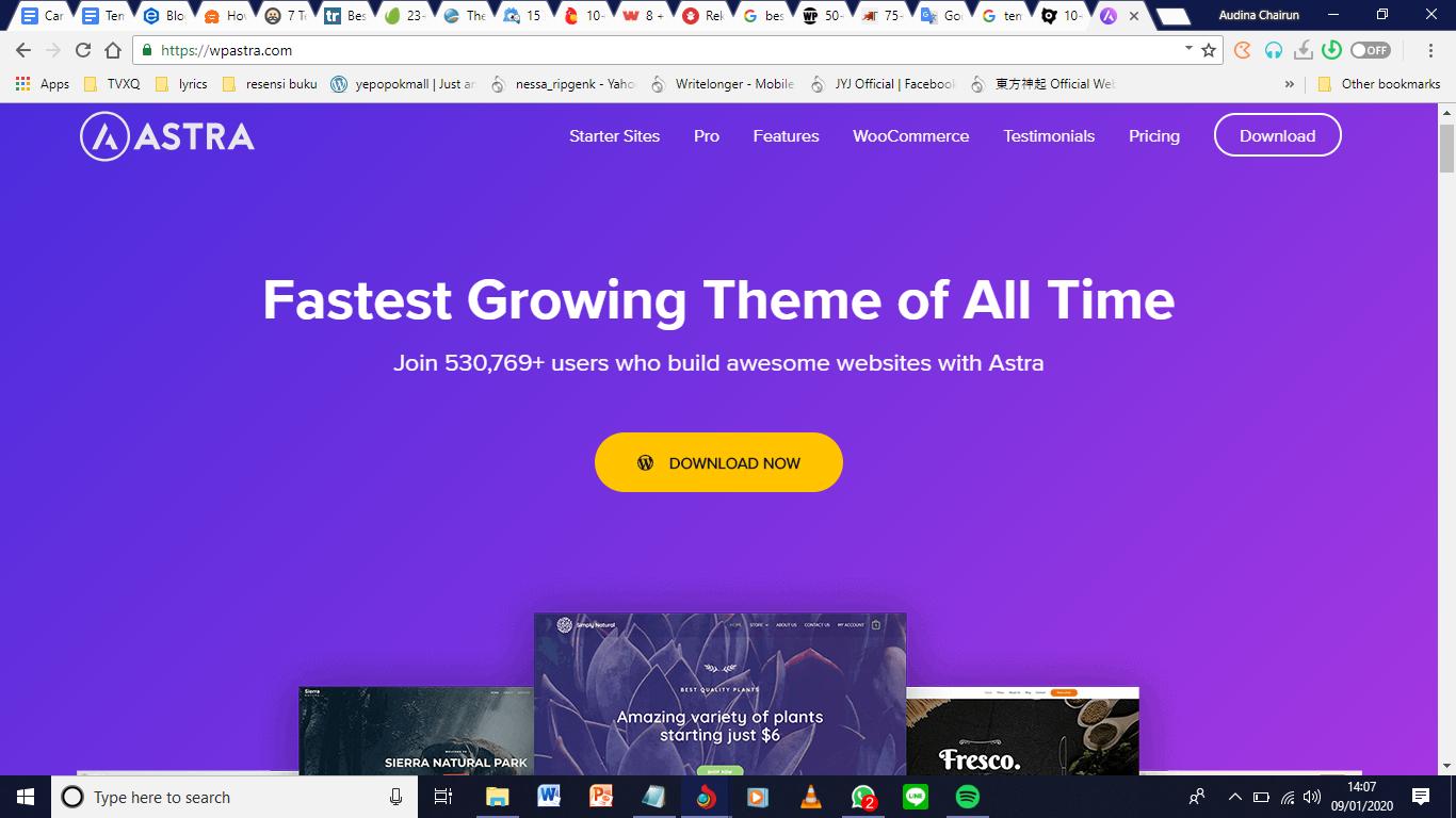 7 Tema WordPress Gratis Yang Multiguna di Tahun 2020