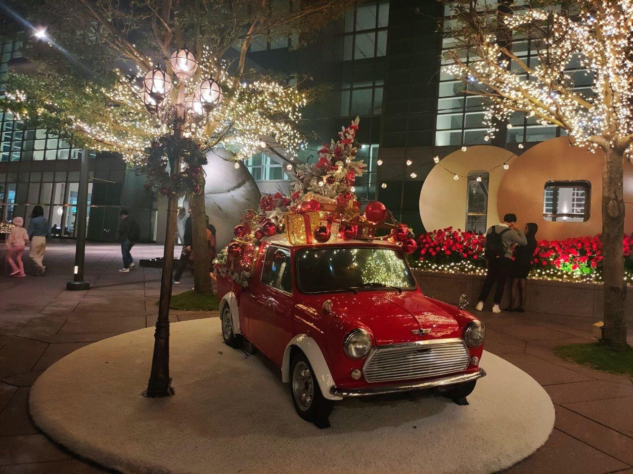 2020聖誕節 活動 景點 台北101 聖誕市集