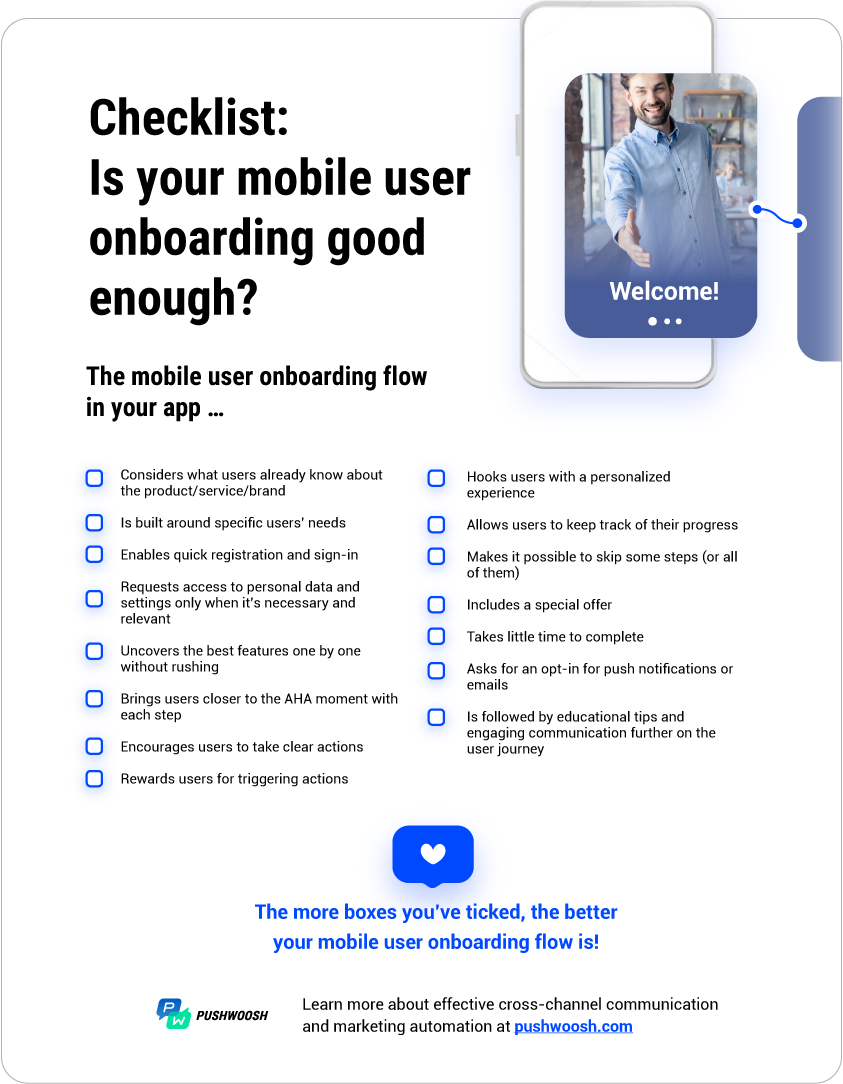 Mobile User Onboarding Checklist
