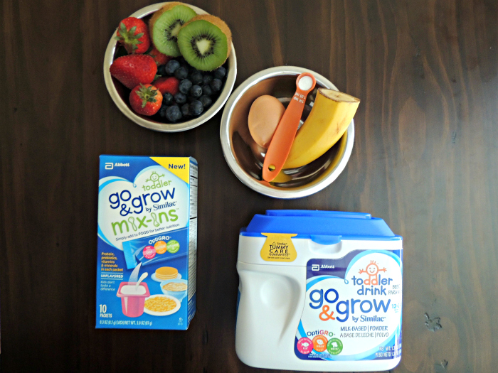 Super Easy Funny Face Pancakes #NutritionintheMix #Walmart #ad Ingredients & Products.jpg